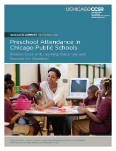 preschool attendance in chicago public schools